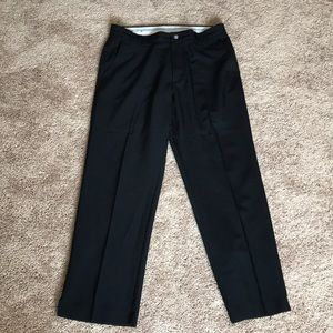 FootJoy men's 35x32 black golf pants EUC